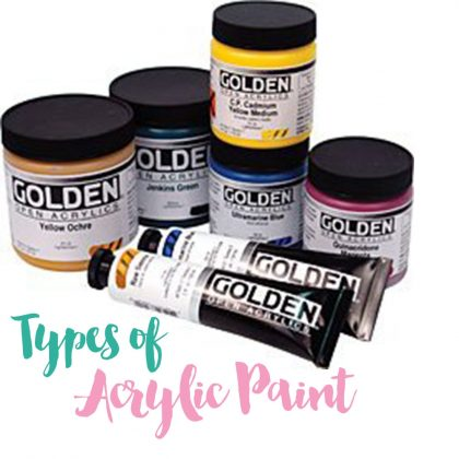 Types of Acrylic Paint