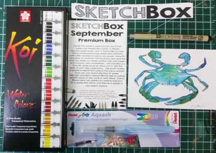 Sketch Box unboxing