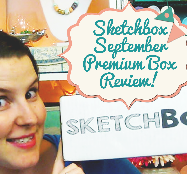 Sketchbox September Premium Box Review!