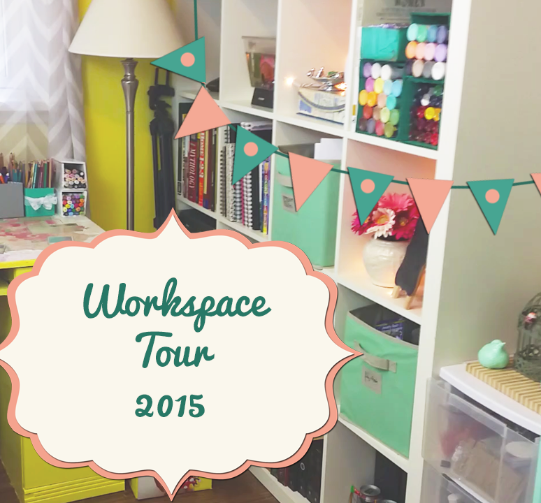 Art Workspace Tour 2015!