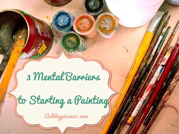 What's Stopping You From Starting a Painting?