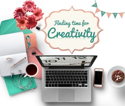 how to be creative in a busy life
