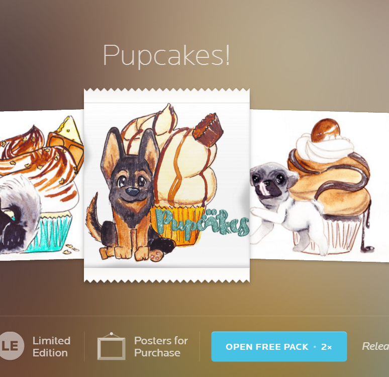 My Pupcakes Series is on NeonMob!