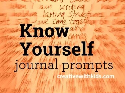 These prompts will ensure you're never stumped on what to write in your art journal!
