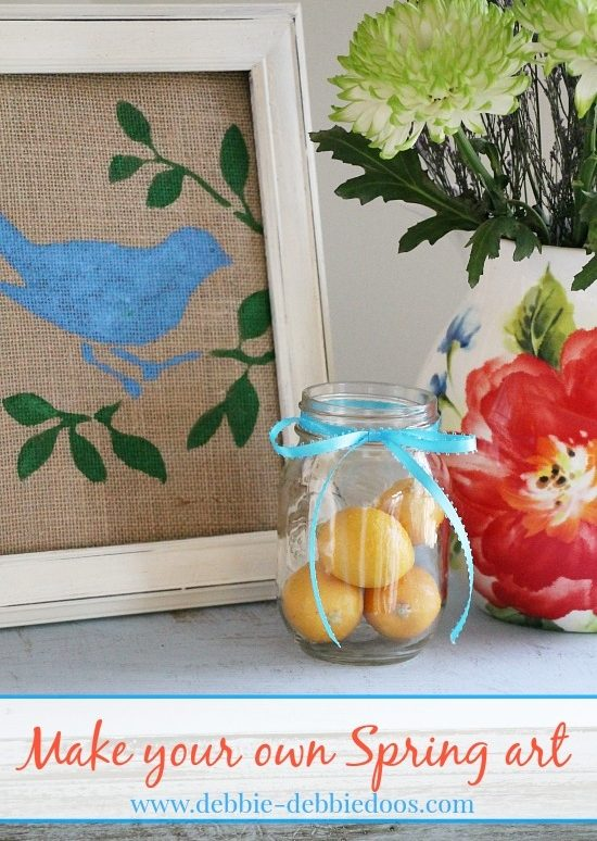 3 Easy DIY Spring Wall Art Projects