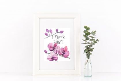 Free Bathroom Wall Art Printable AshleyPicanco