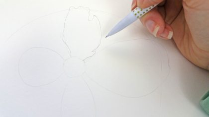 peony drawing tutorial