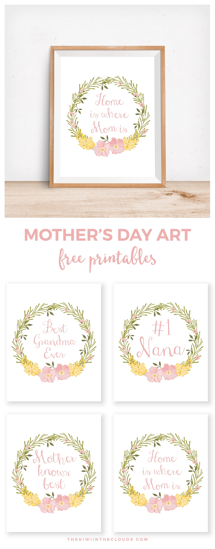 mother's day wall art