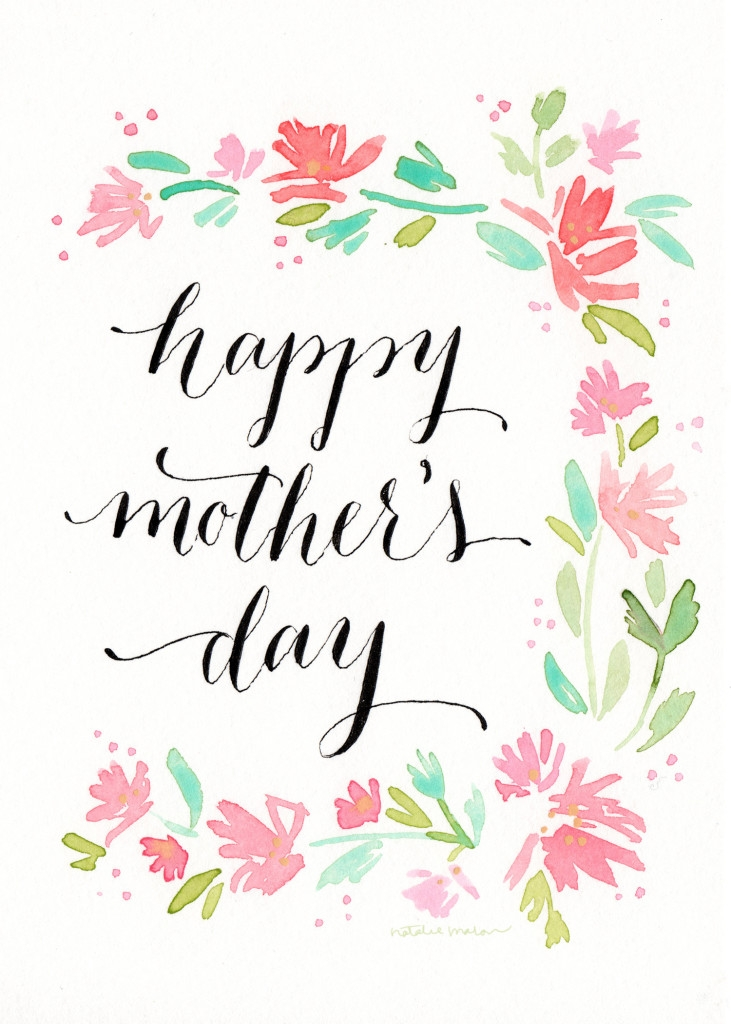mothers day printable free
