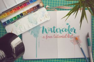 A Watercolor for Beginners Tutorial Round-Up!