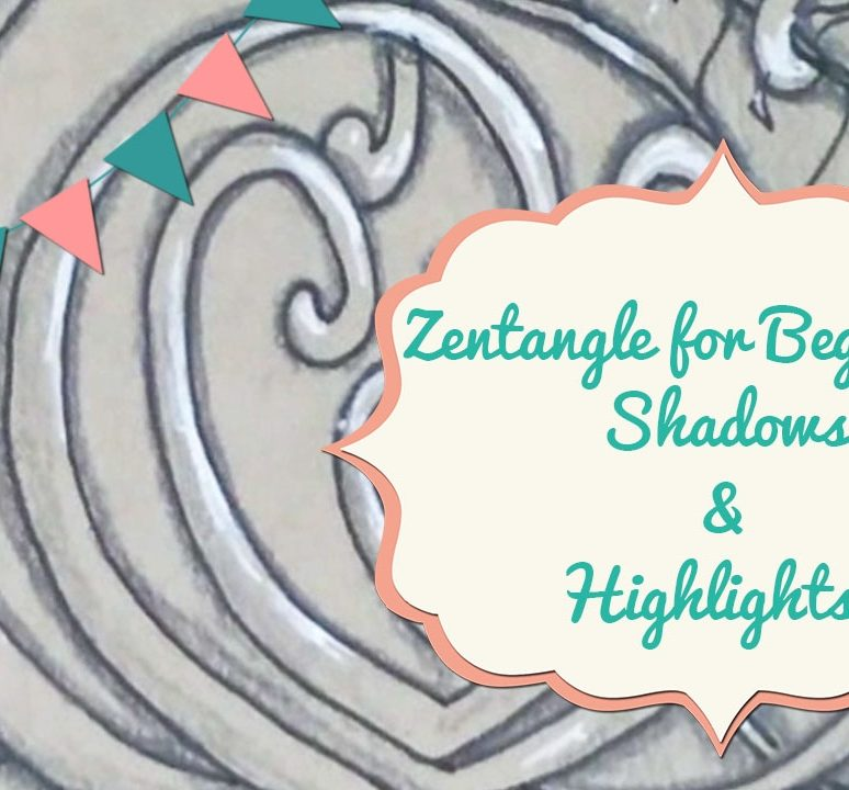 Zentangle for Beginners: Shading & Highlights!