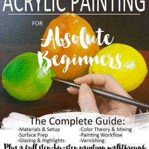 Acrylic Painting for Absolute Beginners E-book