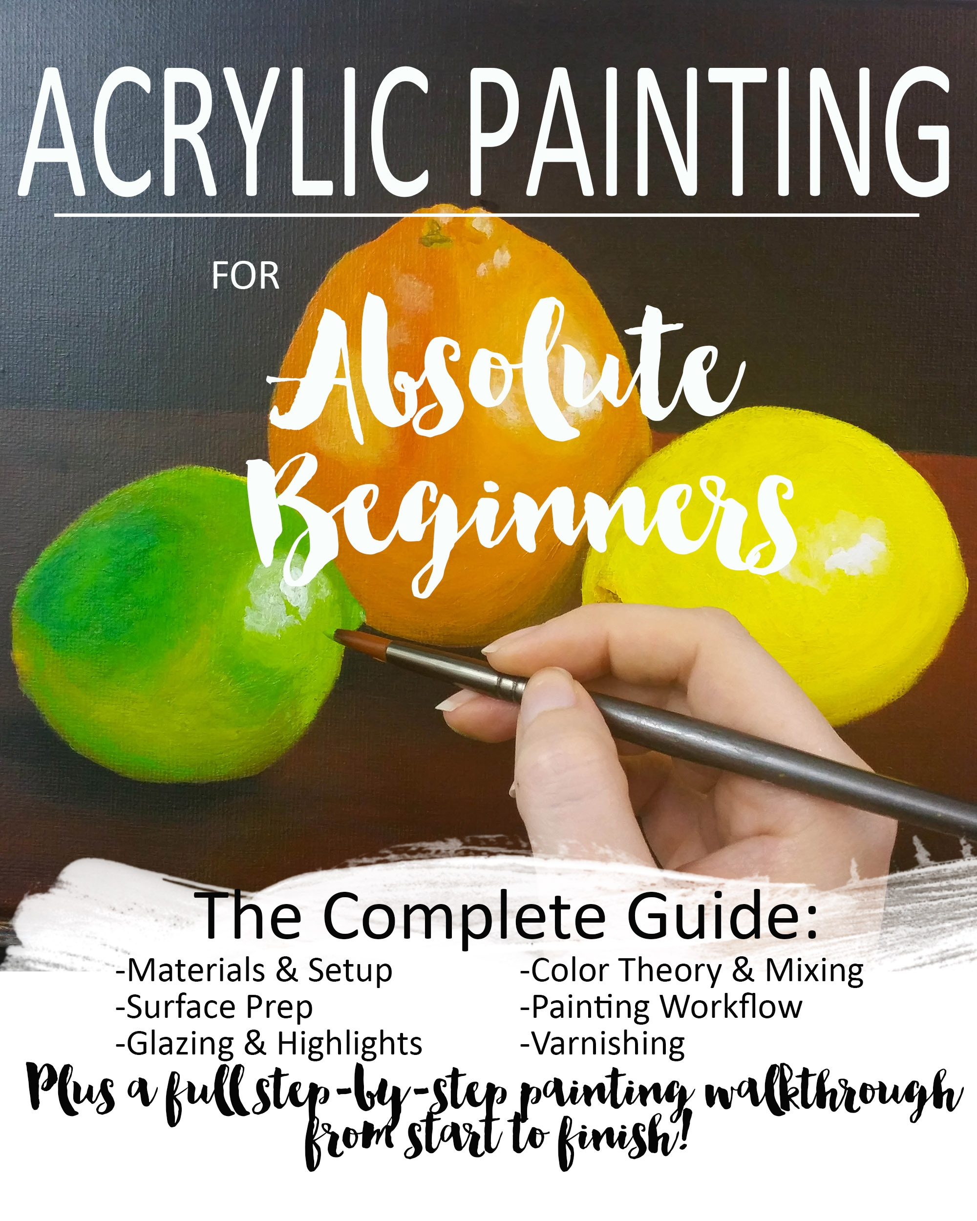 Best Books To Learn Acrylic Painting - Defendbigbird.com