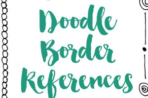 Free Doodle Border References
