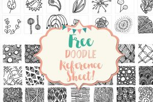 Free Doodle Reference Sheet!