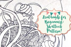 Zentangle for Beginners: Shattuck Pattern!