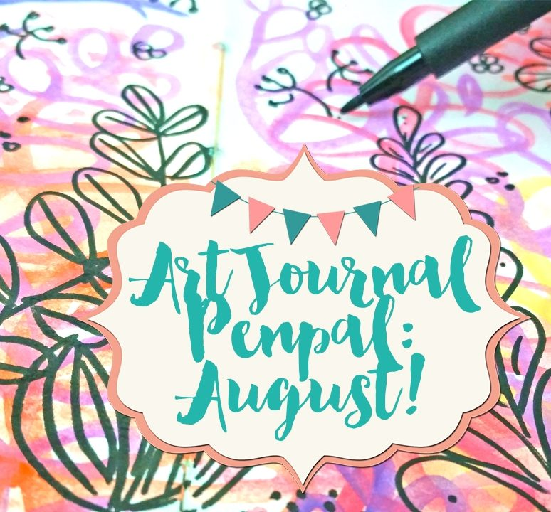 Art Journal Penpal: August!