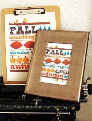 free fall printable art