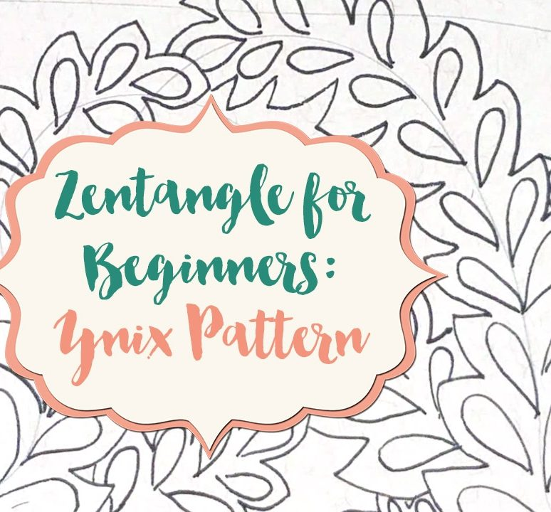 Zentangle for Beginners: Ynix Pattern!