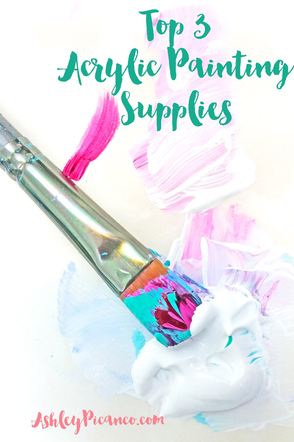 Top 3 Acrylic Painting Supplies