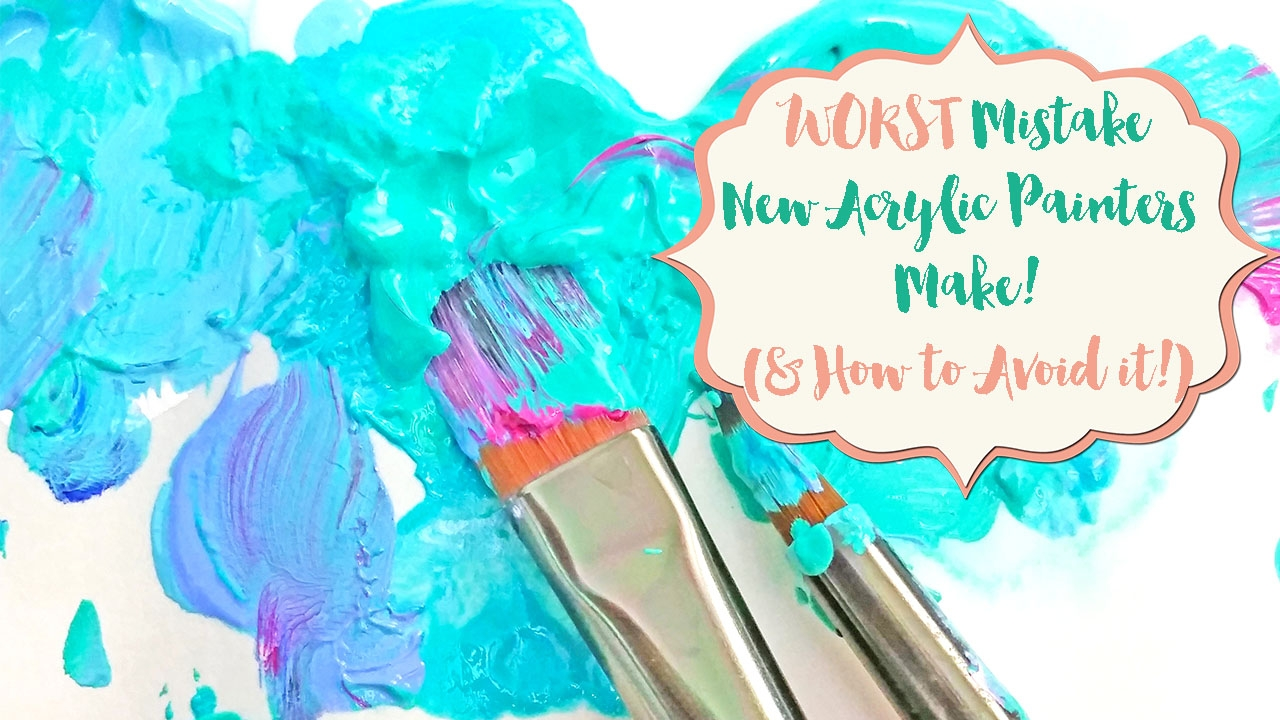 The WORST Mistake New Acrylic Painters Make