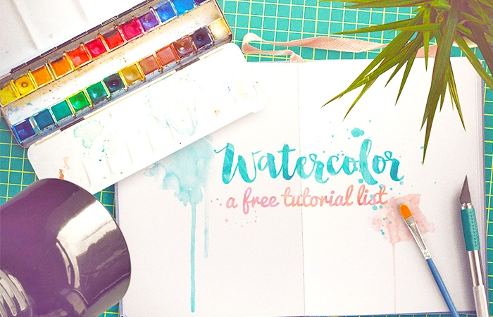 Free Watercolor Tutorials List