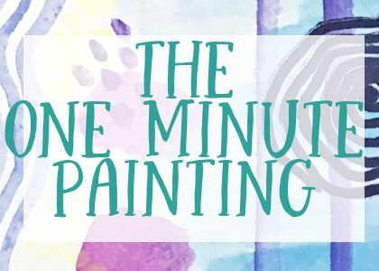 the one minute painting watercolor technique