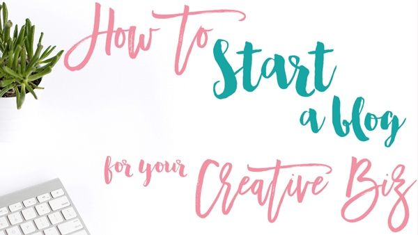 How to Start an Art Blog for your Creative Biz