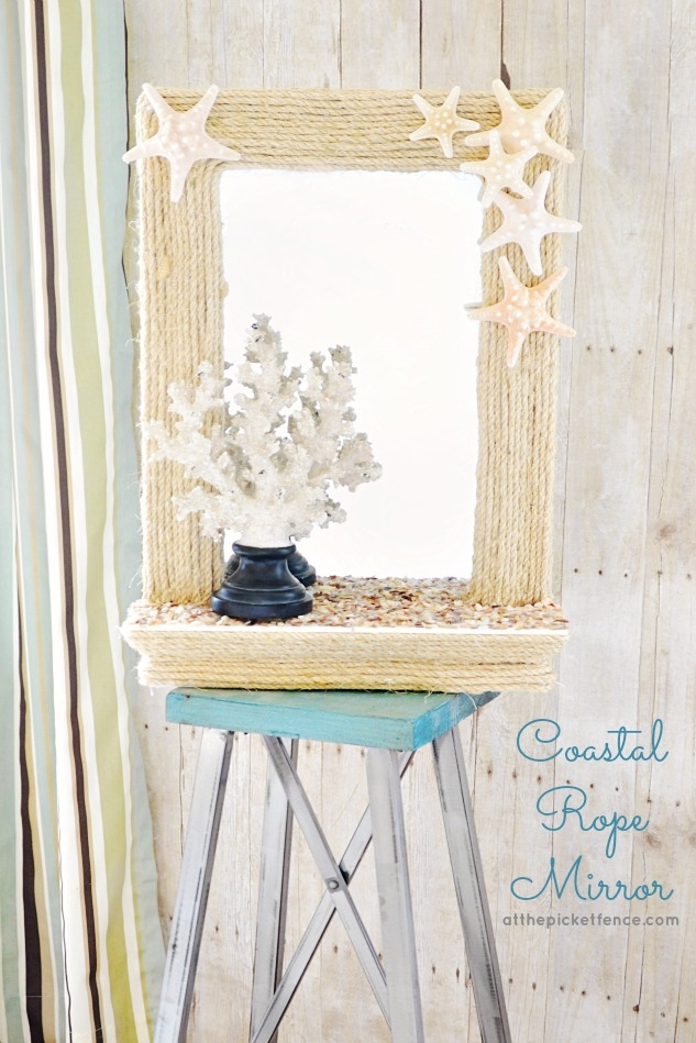 A simple and pretty addition to your home decor!
