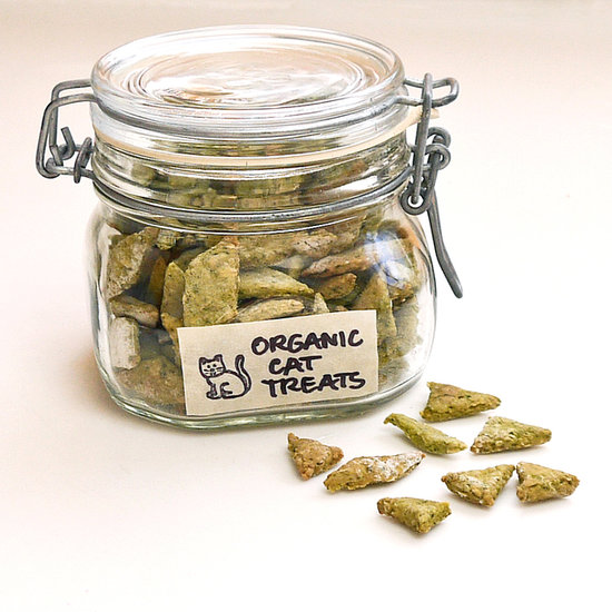 And finally, for that four-legged friend in your life (who you spoil every day of the year already), here's a great recipe for organic chicken spinach cat treats! (Complete with a little hit of catnip in each one!) Maybe Cleo will get something extra special this year.