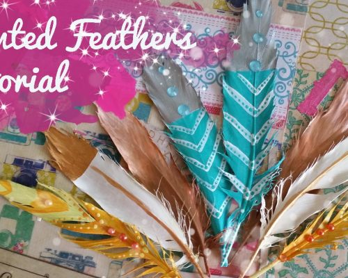 Painted Feathers Tutorial