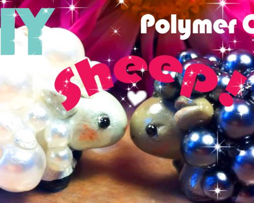 Polymer Clay Spring Sheep Tutorial
