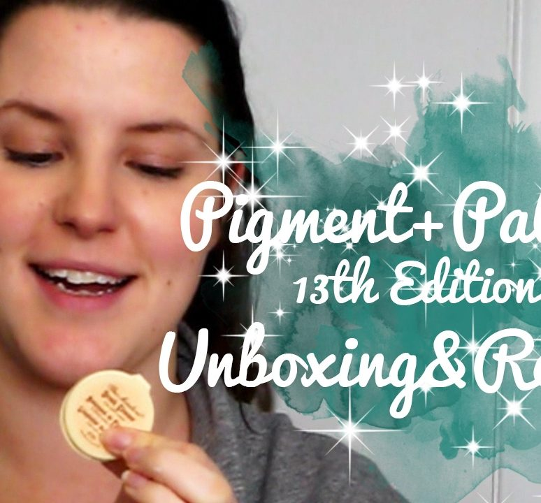 Pigment+Palette 13th Edition Unboxing & Review