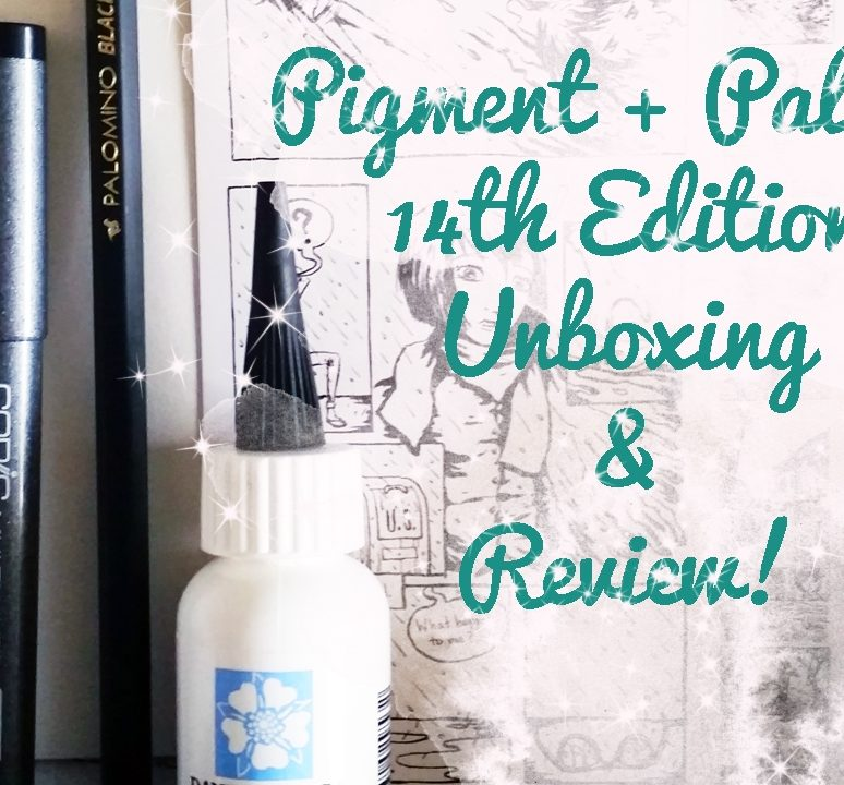 Pigment+Palette 14th Edition Unboxing & Review!