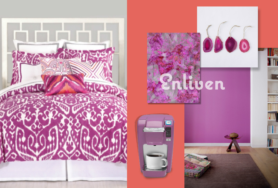 radiant orchid fashion decor lowe's home depot