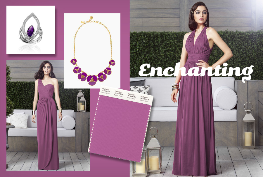 color of the year radiant orchid clothing fashion