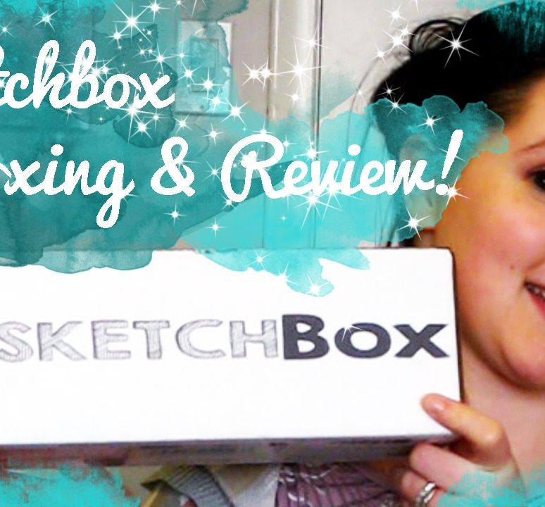 Sketchbox April Unboxing & Review!