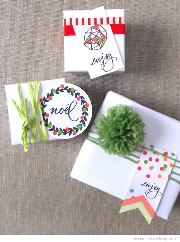DIY Christmas printables